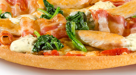 Produktbild Pizza Chicken & Bacon