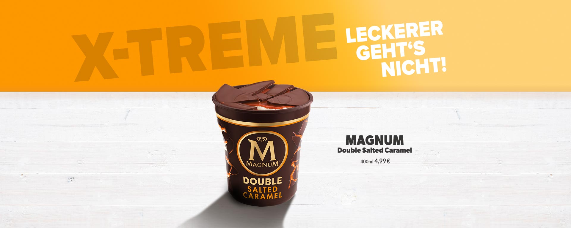Magnum Double Salted Caramel Eis